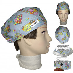 Hat of the operating room man strollers for short hair with name
