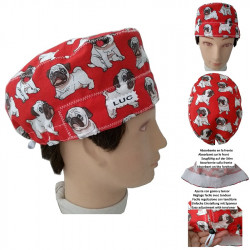 Veterinarian hat Man BULLDOGS personalized with name