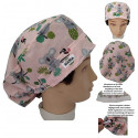 Hat for the operating room little KOALAS long hair absorbent strip and tensor