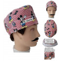 Surgical cap Mickey Mouse man with name