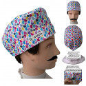 Surgical cap Hearts man for short hair with name